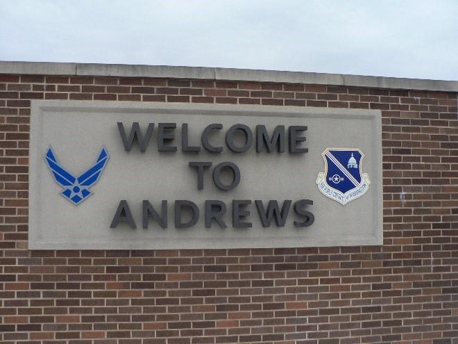 Andrews Air Force Base  The Gitmo Observer