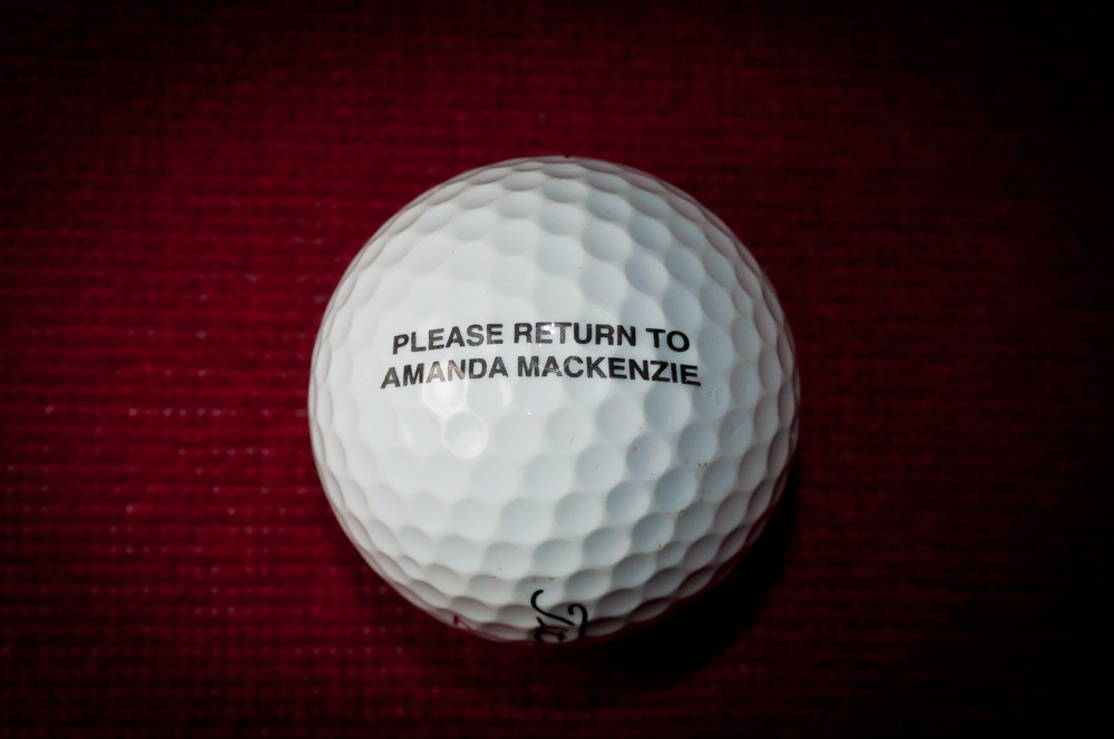 En golfbolds rejse…