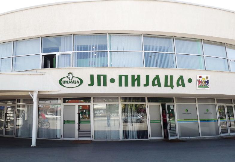 Управна зграда ЈП Пијаца Лесковац