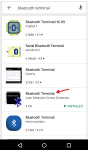 Bluetooth Terminal app