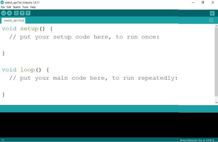 demo Arduino program