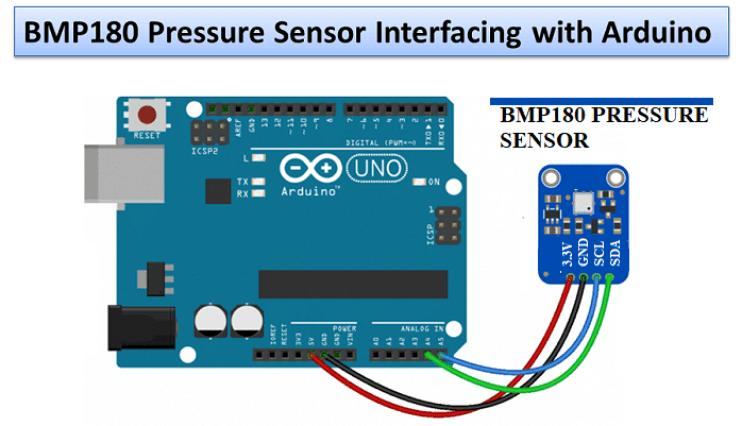 Pressure Sensor with Arduino