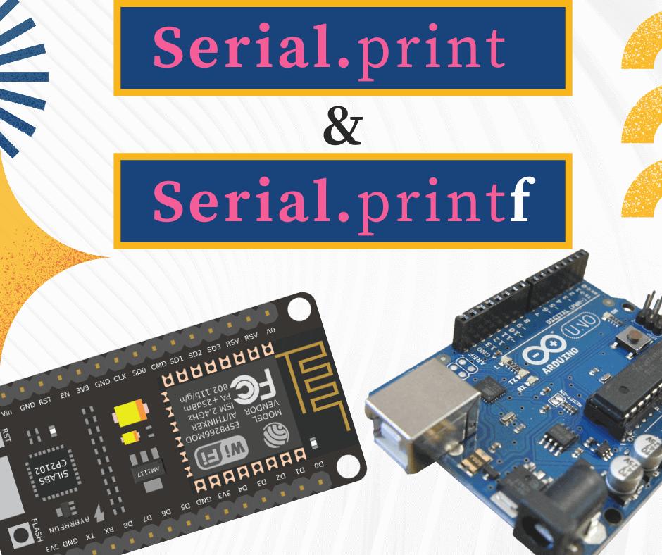 serial print and printf