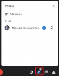 google meet show everyone