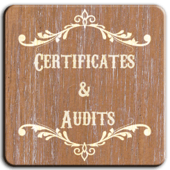 Certificates and audits