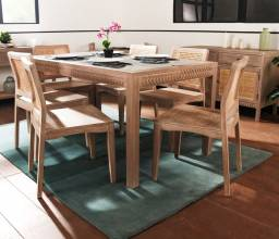 French Style Dinner Table Design