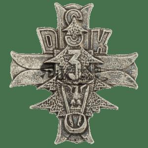 Przypinka 3 Dywizji Strzelców Karpackich