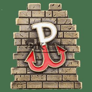 Magnes metalowy-Polska Walcząca na murze