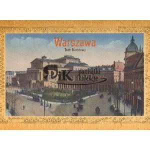 Pocztówka Teatr Narodowy w Warszawie z połowy XIX wieku