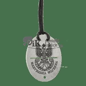 Nieśmiertelnik z orłem marynarki wojennej oraz inskrypcją MARYNARKA WOJENNA