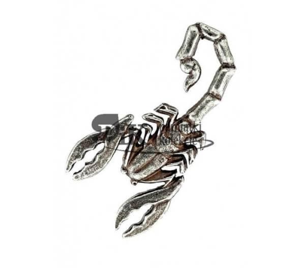 Przypinka z odznaką 4 Pułku Pancernego Skorpion