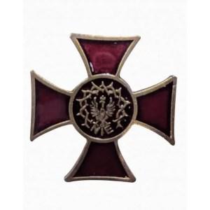 Krzyż nie odznaka Pamiątkowa Organizacji NIE