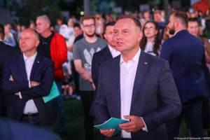 Andrzej Duda patriotyczne piosenki