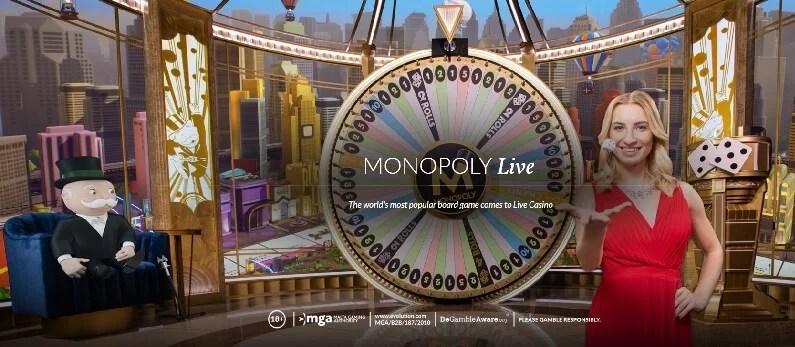 Pikakasinot Monopoly live