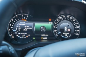 Ford S-MAX meters