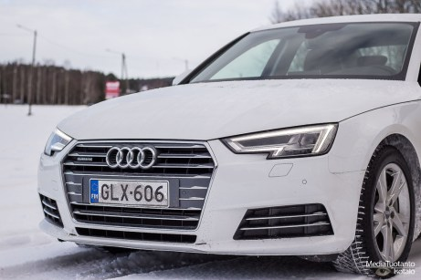 Audi A4 front lights