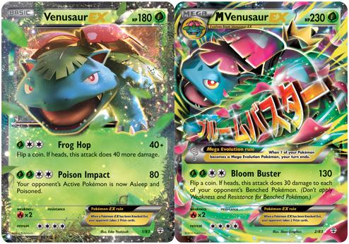 Venusaur EX and Mega