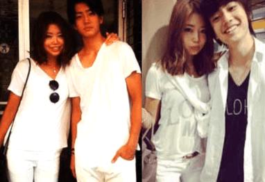 モデル兼俳優の健太郎が姉のインスタで一緒に写真に映っている画像1