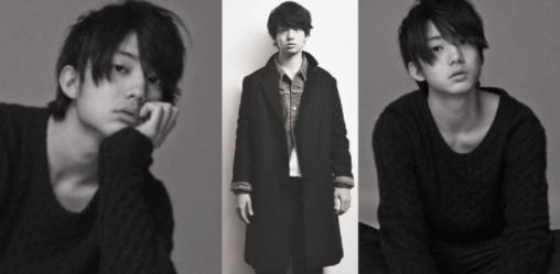 モデル兼俳優の健太郎が白黒モノトーンな写真で写っている画像