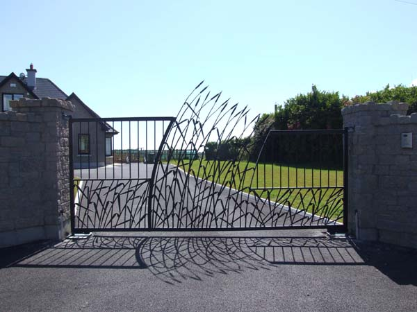 Pikeman Forge Forged Gates and Stairs wrought iron engineering blacksmiths wexford irish