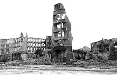 Stalingrad after the battle;  [Public domain], via Wikimedia Commons