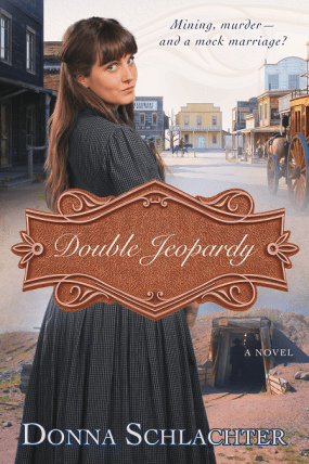 Double Jeopardy, Cover, by: Donna Schlachter