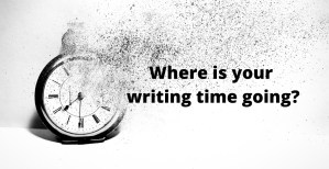 Where is your writing time going?