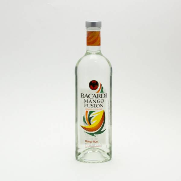 Bacardi - Mango Fusion Rum - 750ml | Beer. Wine and Liquor Delivered To Your Door or business. 1 hour alcohol delivery
