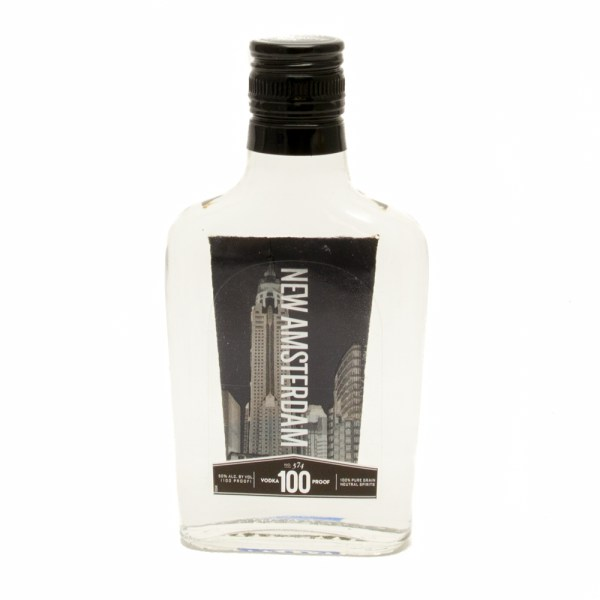 Amsterdam - 100 Proof Vodka 200ml Beer Wine And