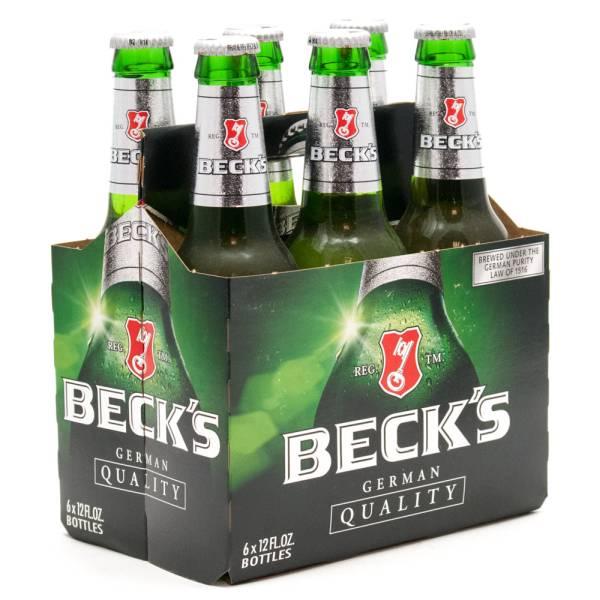 Beck39s German Beer 12oz Bottle 6 Pack Beer Wine