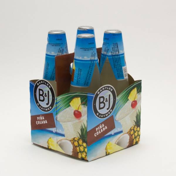 Bartles Jaymes Pina Colada 112oz Bottle 4 Pack