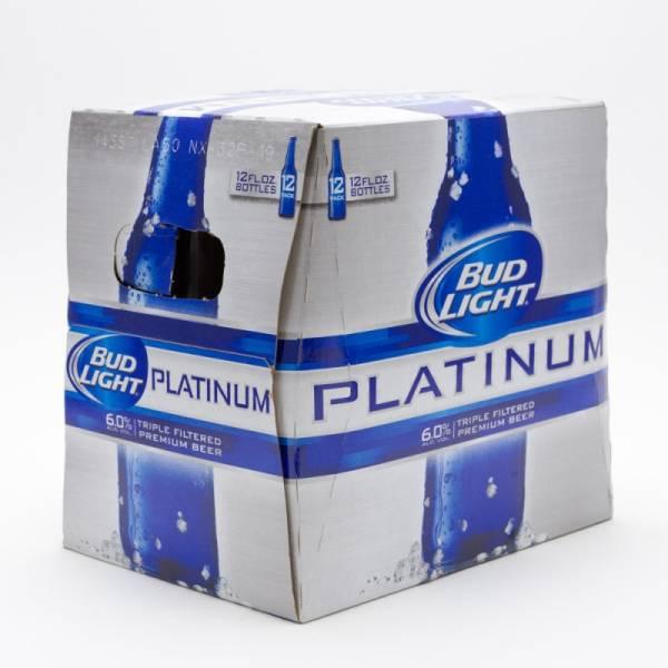 Bud Light - Platinum 12oz Bottle 12 Pack Beer Wine And Liquor Delivered Door