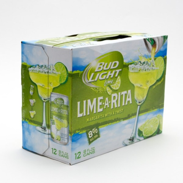 Bud Light Lime - Lime-rita Margarita 8oz 12 Pack Beer Wine And Liquor Delivered