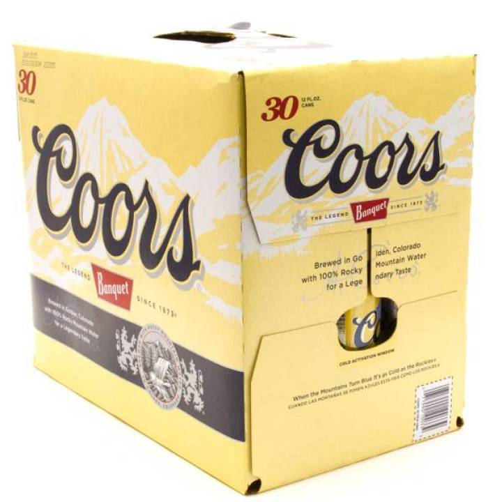 Does 30 Pack Of Coors Light Cost Decoratingspecial Com