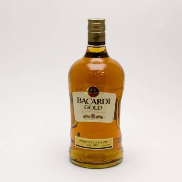 Bacardi - Gold Original Rum - 1.75L | Beer. Wine and Liquor Delivered To Your Door or business. 1 hour alcohol delivery