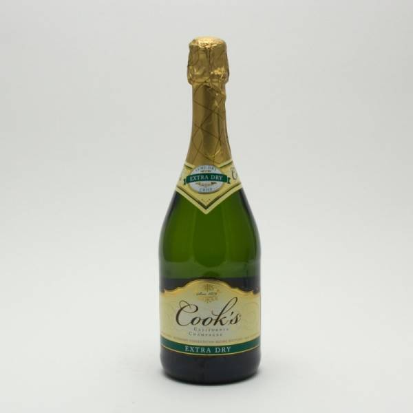 Cook39s Extra Dry California Champagne 750ml Beer