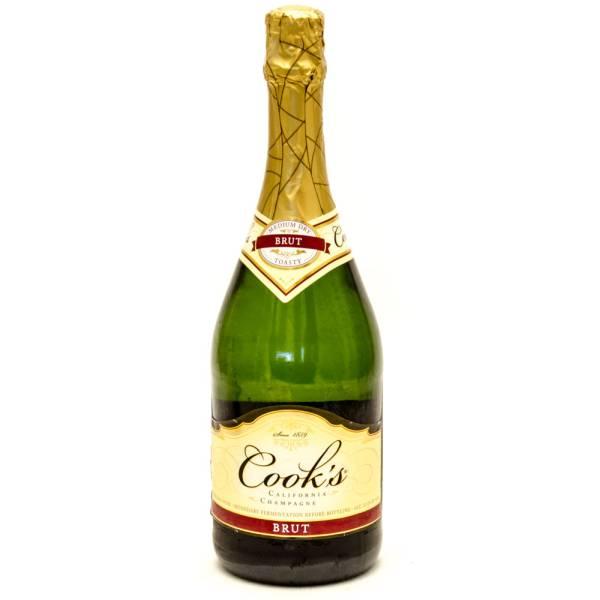 Cook39s Brut Medium Dry California Champagne 750ml