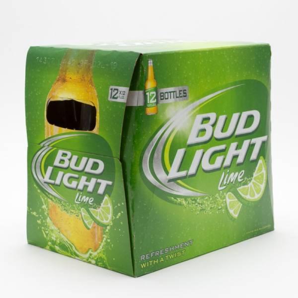Bud Light Lime - 12oz Bottle 12 Pack Beer Wine And Liquor Delivered Door