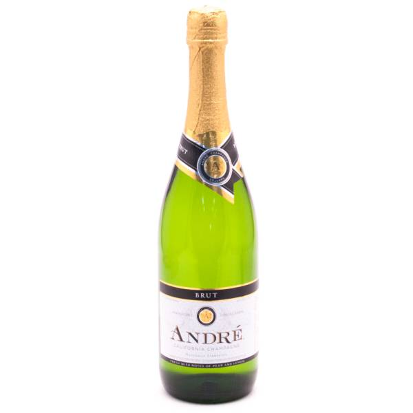 Andre California Sparkling Wine - Brut 9.5 Acl 750ml