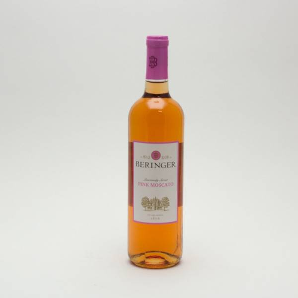 beringer pink moscato 750ml beer wine and liquor delivered to your