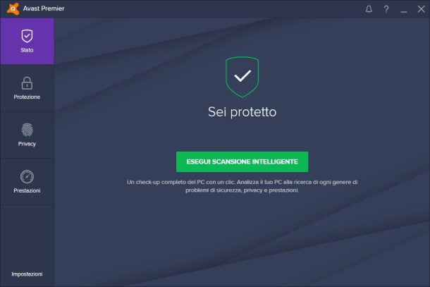 Avast! Premier Antivirus 2017 v17.1.2286 (build.17.1.3394.0) - Ita