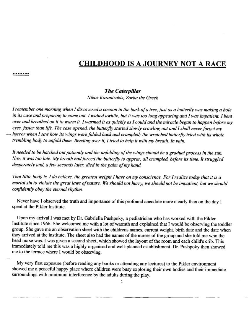 Childhood Journey