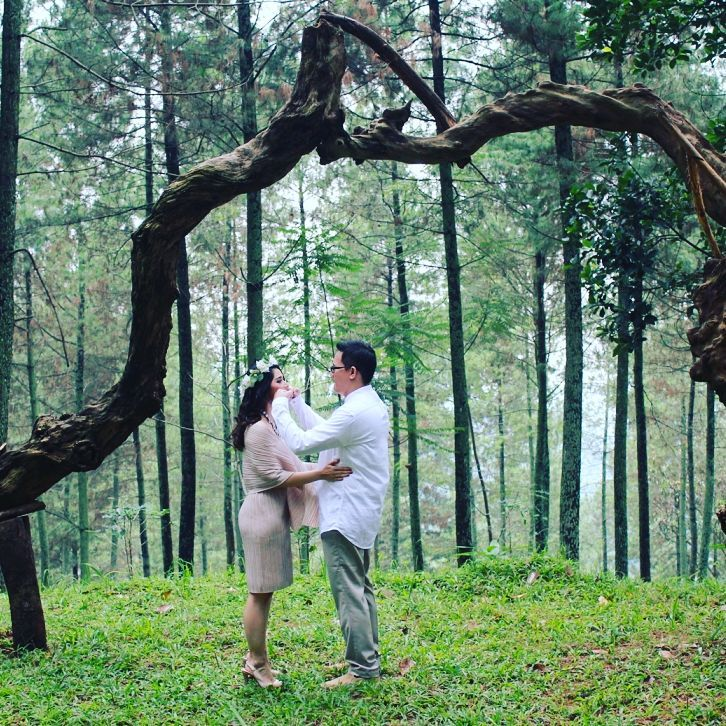 prewedding di dago dream park