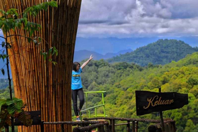 pemandangan panorama alam pabangbon