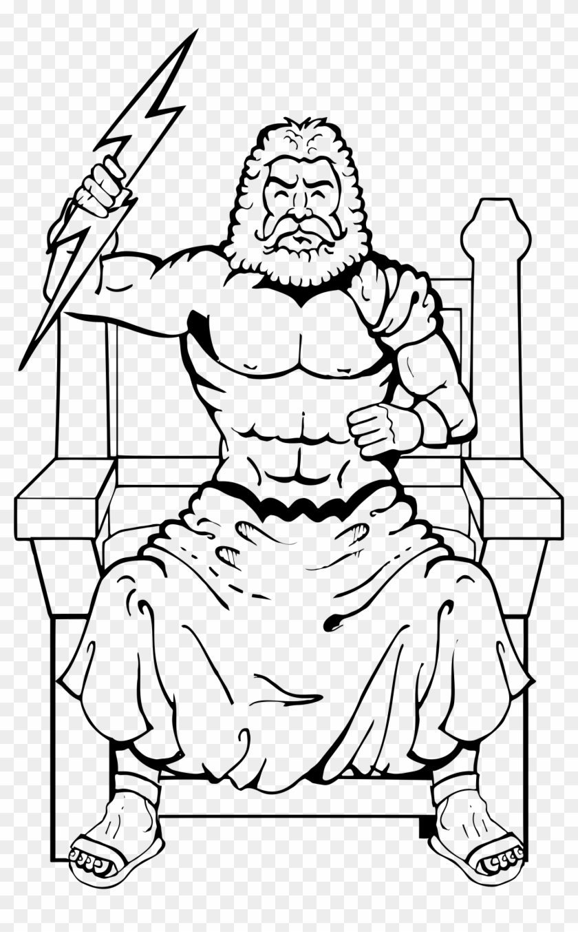 Zeus Easy Drawing : drawing, Image, Thunderbolt, Drawing, Clipart, (#1416795), PikPng