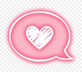 aesthetic stickers heart kawaii pastel pink cute transparent overlay message neon clipart goth copyright hd pikpng complaint pngfind