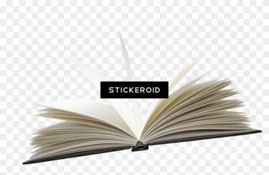 Open Book Transparent Background Novel Clipart #2226925 PikPng