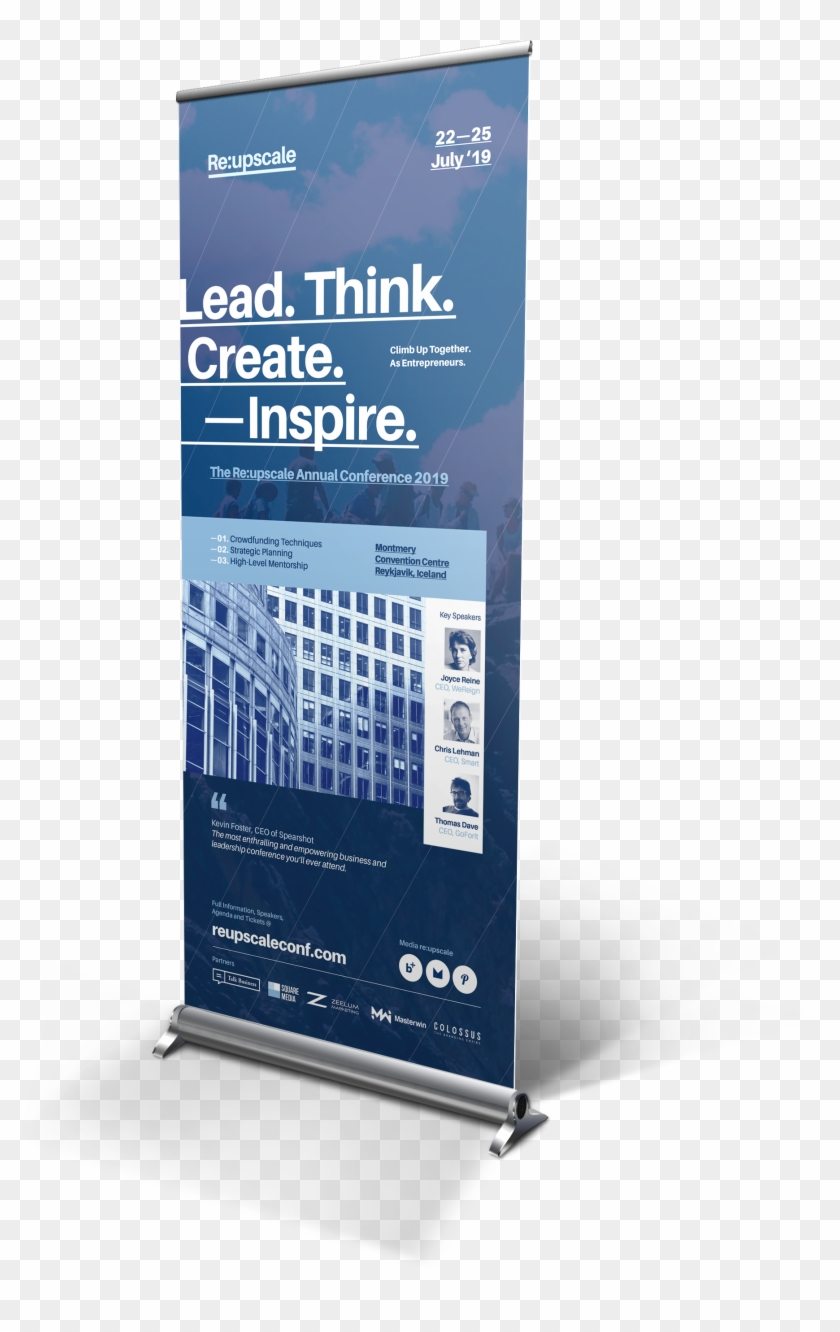 Roll Up Banner Png : banner, Event, Templates, Behance, Rollup, Conference, Banner, Clipart, (#2279507), PikPng