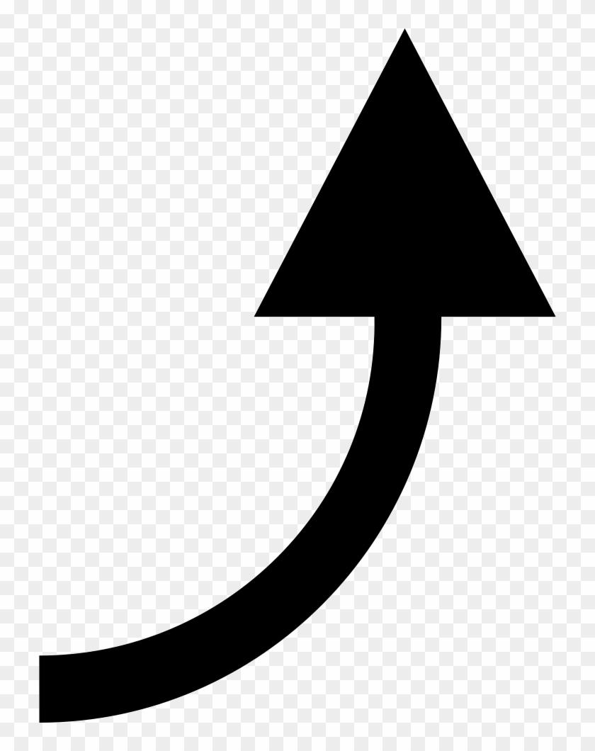 Black Curved Arrow : black, curved, arrow, Vector, Curve, Curved, Black, Arrow, Clipart, (#284608), PikPng