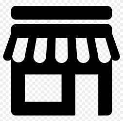 Itu0027s An Icon For Finding Local Shopping Shop Icon Png Clipart #302182 PikPng